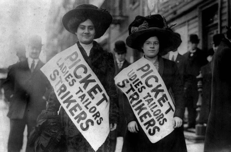 שביתת הנשים הגדולה, נובמבר 1909