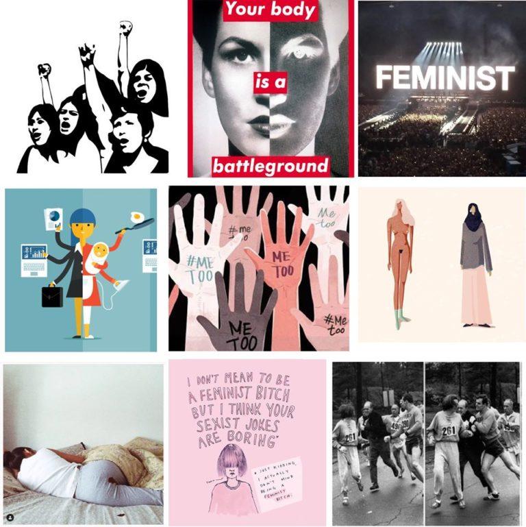 הפמיניסט.ית חוגגת שנה