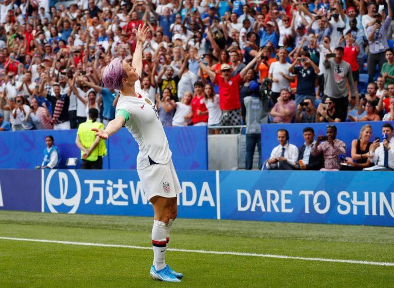מייגן ראפינו נבחרה לספורטאי.ת השנה